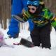 Journée d'hiver Sépaq avec Ti-Mousse dans Brousse