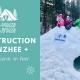 Construction d'un quinzhee + Base de survie en hiver - Laurentides